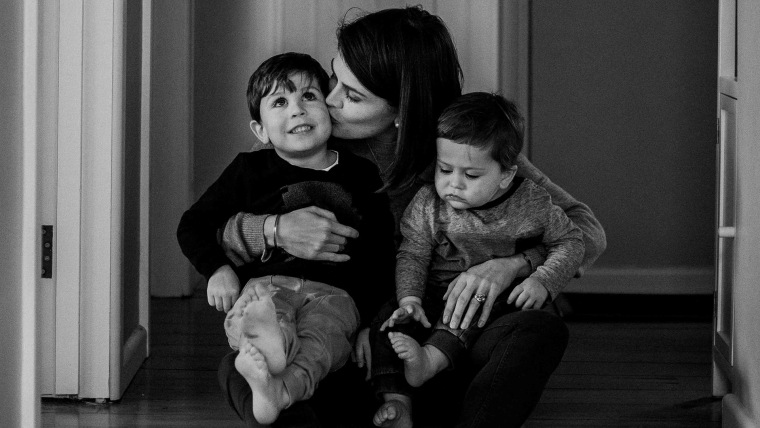 Dying mother, Sara Chivers, writes goodbye letter to young sons.