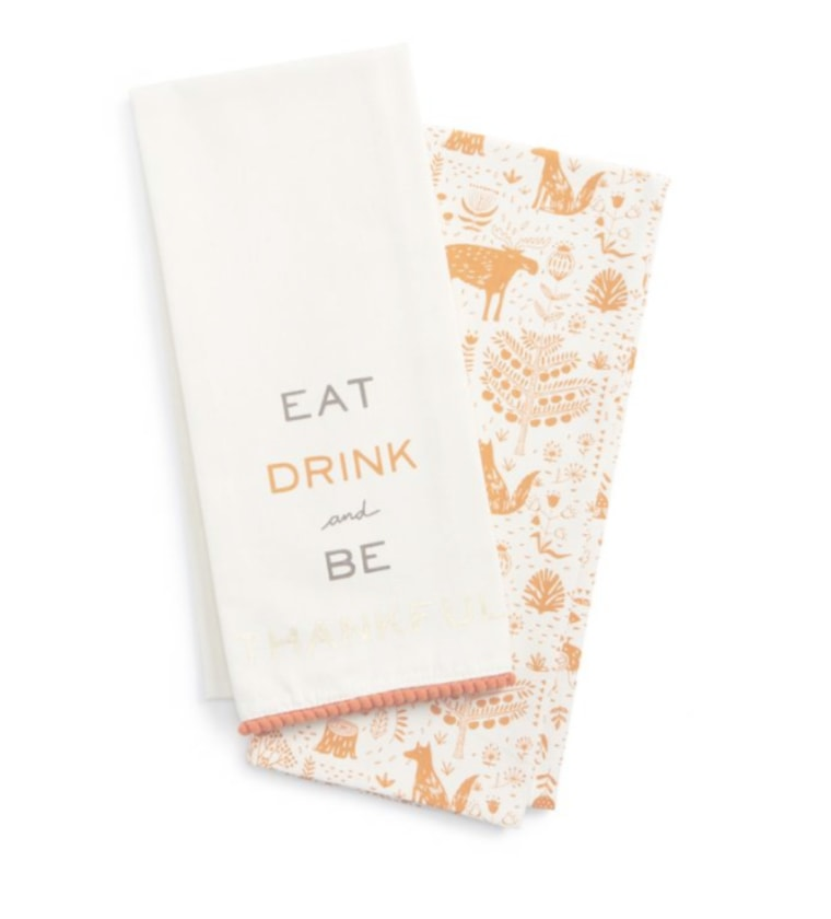 Be Thankful napkins