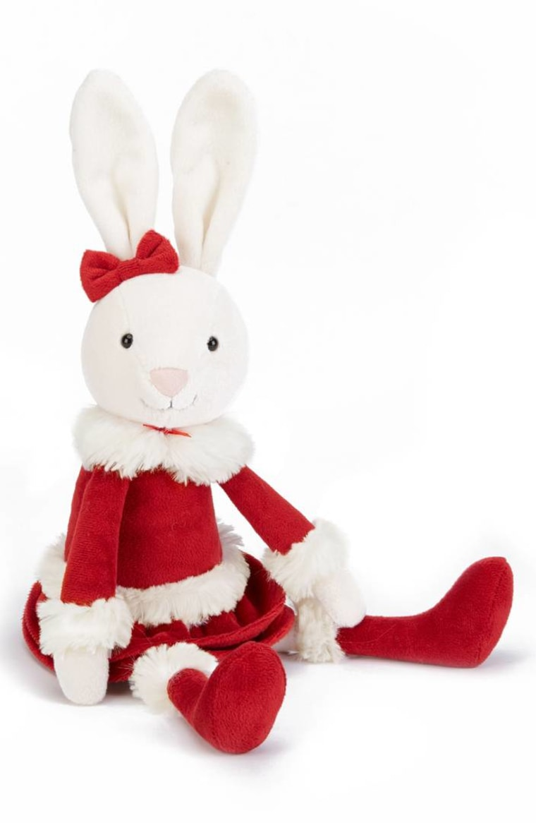 Christmas Bitsy Bunny Stuffed Animal by JELLYCAT