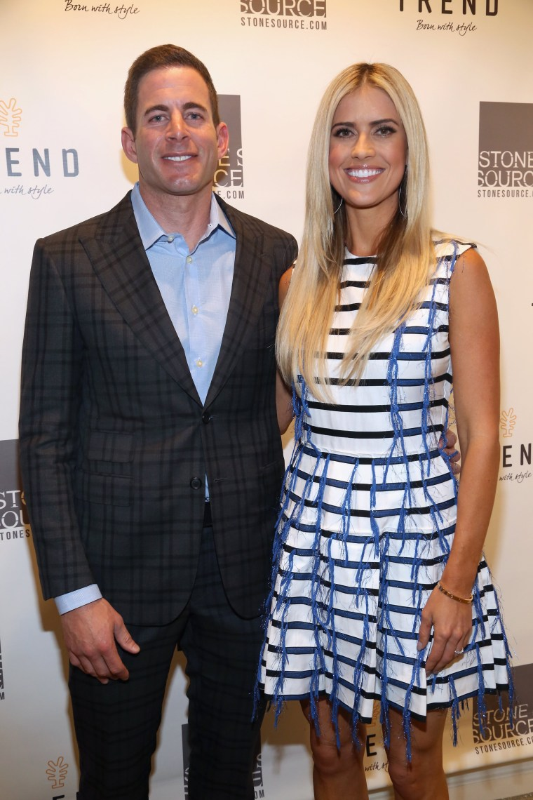 Image: Tarek and Christina, TV's Favorite House Flippers, Featured at TREND/Stone Source Event in New York