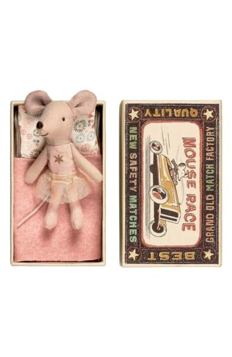 Little Sister Star Toy Mouse in a Box