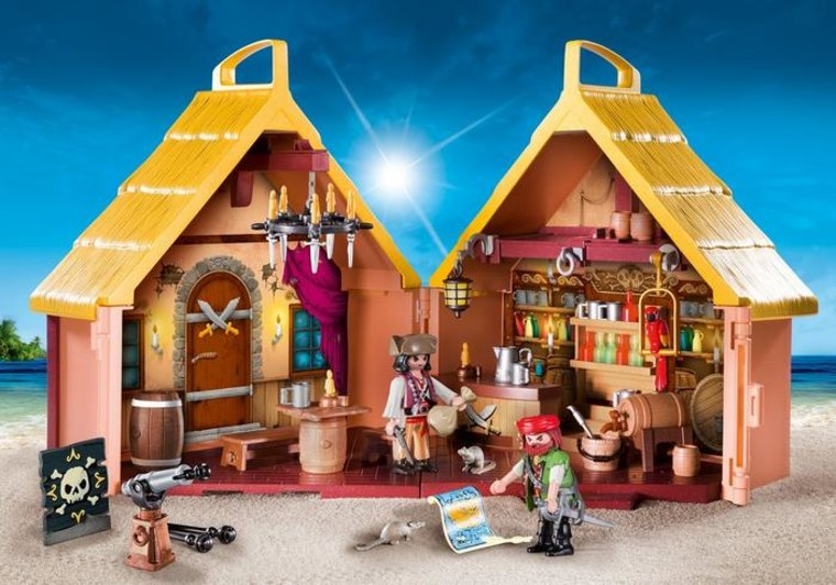 Playmobil Take-Along Pirate Stronghold
