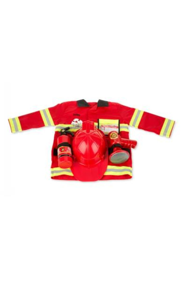 Melissa & Doug Personalized Fire Chief Costume