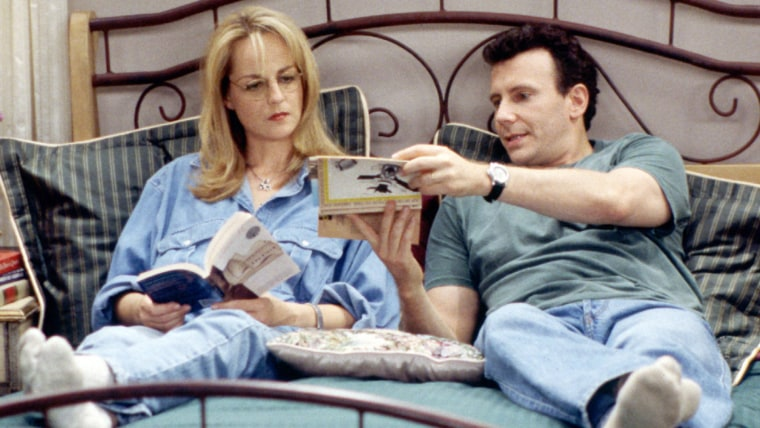 MAD ABOUT YOU, Helen Hunt, Paul Reiser