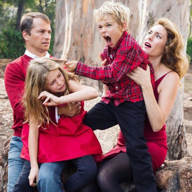 Deva Dalporto says letting her family get real resulted in one of her favorite holiday cards ever.