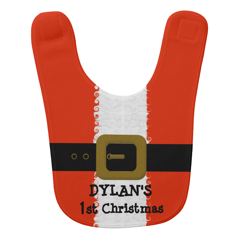 Zazzle Holiday Bib