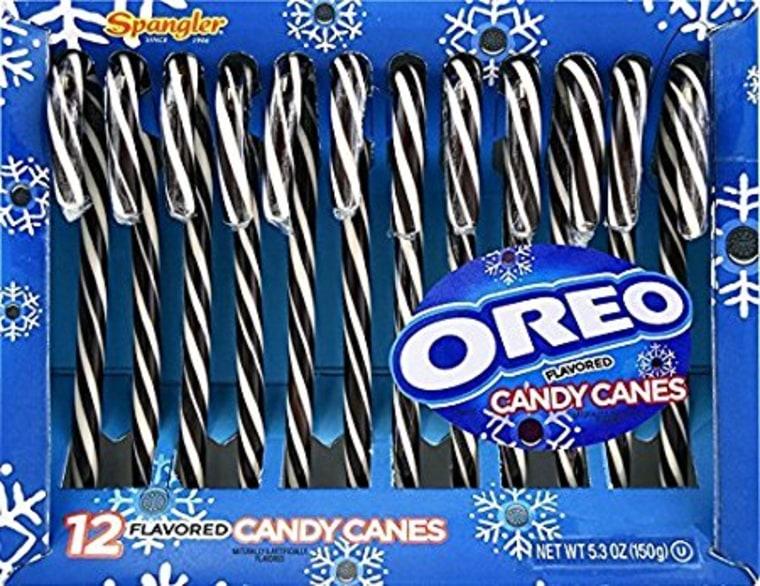 Oreo Candy Cane