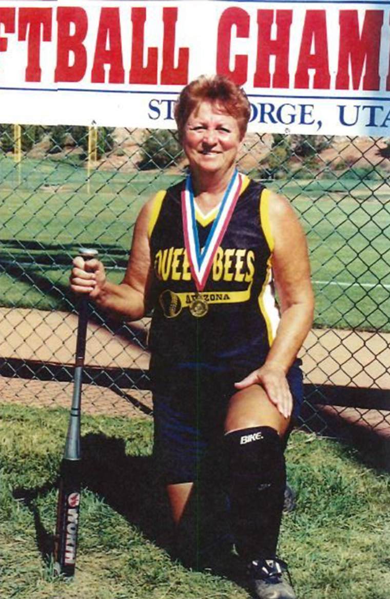 Thanks to her pitching skill, Norma Franzese just helped her team to win the Huntsman World Senior Games last month.