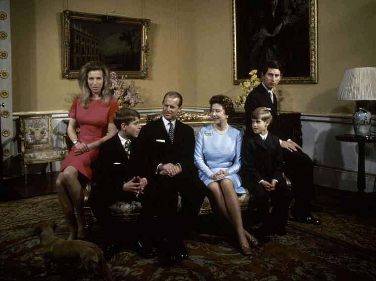 Royal Family At Buckingham Palace
