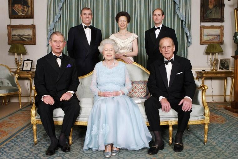 The Queen & The Duke Of Edinburgh 60th Diamond Wedding Anniversary