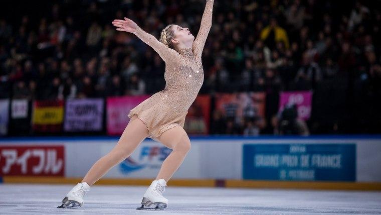 Image: ISU Grand Prix of Figure Skating - Paris Day 2