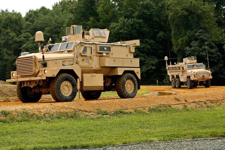 Image: Military Vehicle MRAP