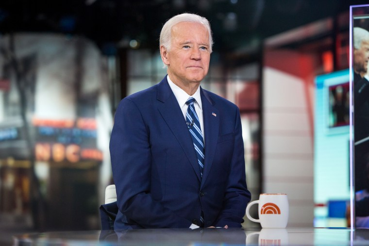 Former VP Joe Biden says he's 'not closing the door' on 2020 election