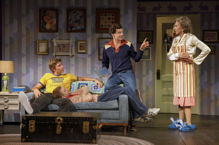 "Michael Urie as Arnold Beckoff in ""TORCH SONG"" by Harvey Fierstein"