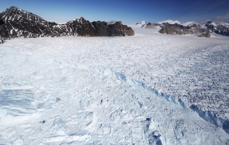 Image: NASA's Operation IceBridge Studies Ice Loss In Antarctica