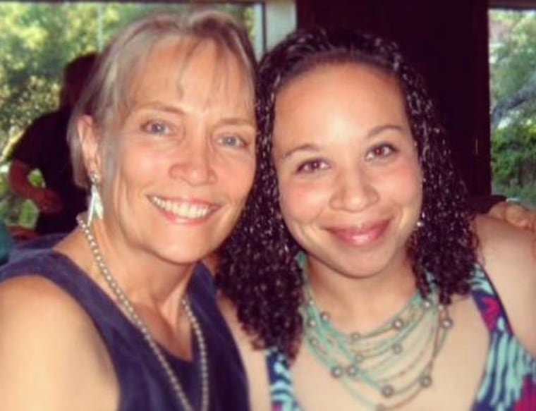 Janet Duke (right) and her daughter, Joanna.
