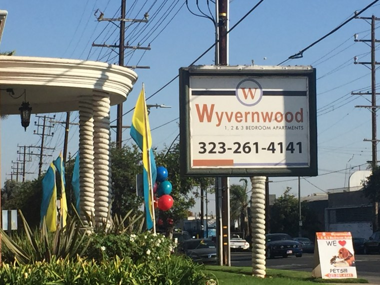 The Wyvernwood Garden Apartments in Boyle Heights.