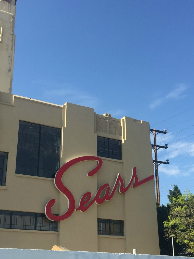 There is a proposal to convert the old Sears building in the neighborhood of Boyle Heights and turn it into a residential tower.
