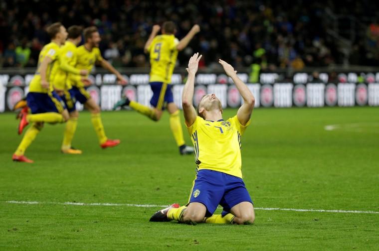 Image: Italy FIFA Loss
