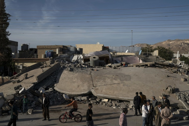 Image: Earthquake in Iraq