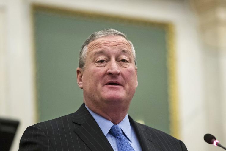 Image: Philadelphia Mayor Jim Kenney