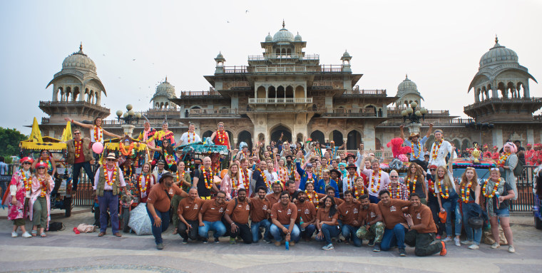 Approximately 80 adventurers embarked on the journey, which kicked off on Oct. 31, 2017, in the city of Jodhpur and concluded on Nov. 5 in Jaipur, a trek totaling over 300 miles.