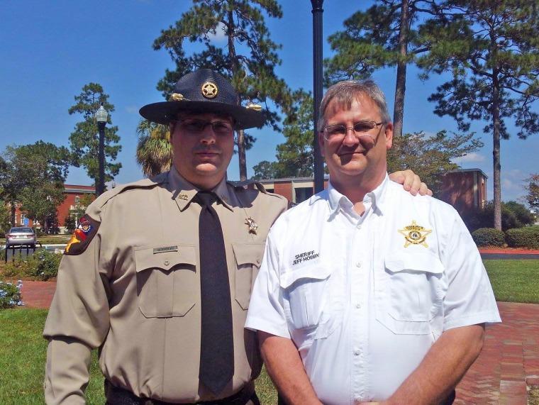 Image: Sheriff Jeff Hobby.