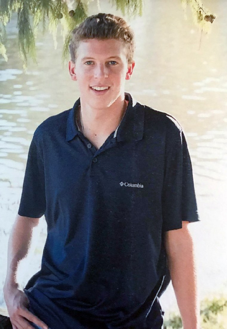 Image: Matthew McKinley Ellis, a former Phi Kappa Psi pledge at Texas State University.