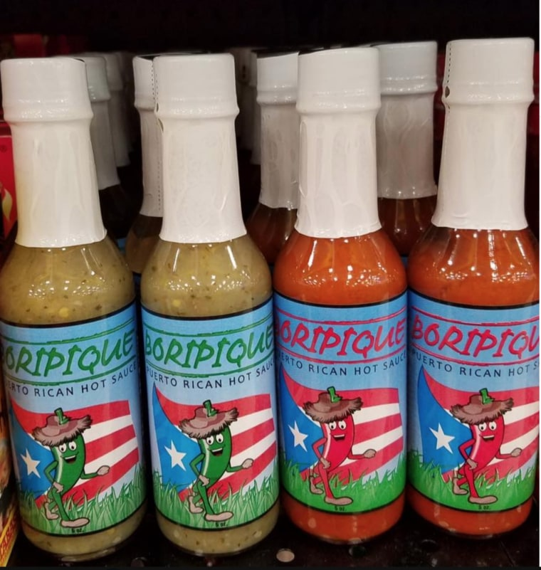 Puerto Rican hot sauce is one of the products being offered at shopandhirepr.com.