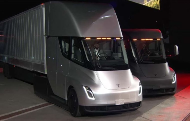 Tesla Unveils Electric Truck And World S Fastest Production Car