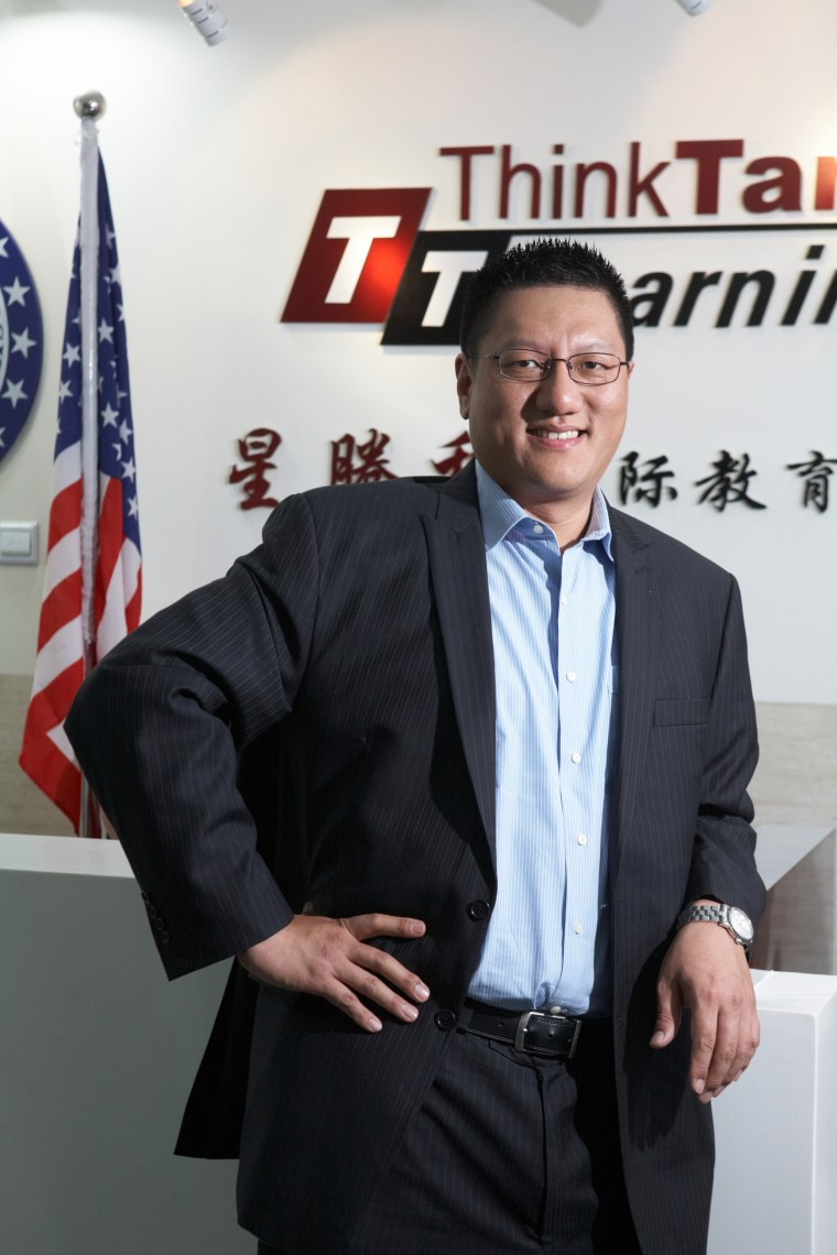 Steven Ma  president and CEO of ThinkTank Learning.