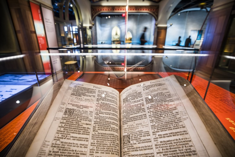 Image: Museum of the Bible Prepares to Open its Doors in DC