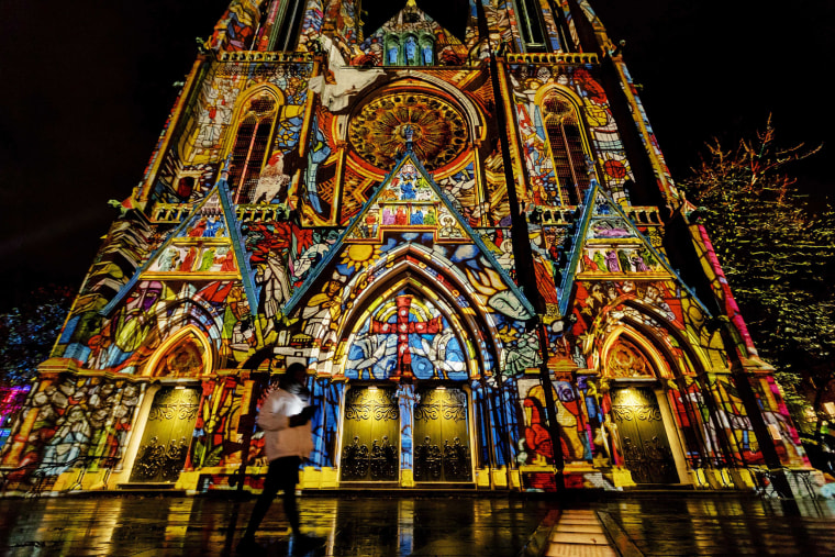 Image: Glow annual light art festival in Eindhoven