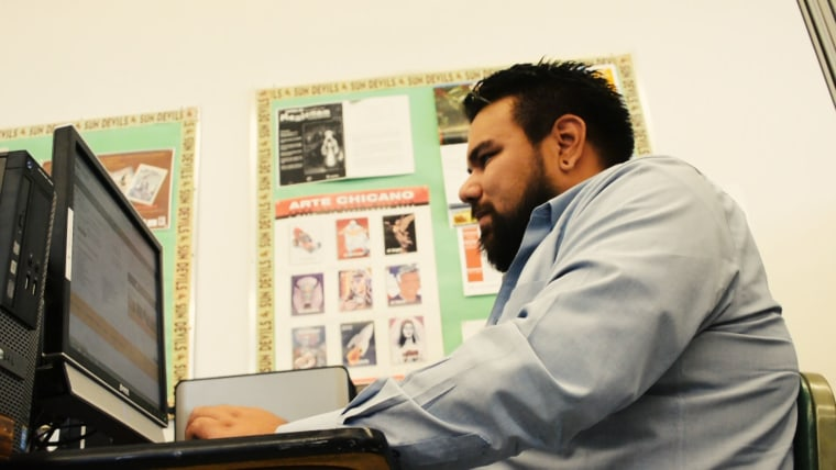 Sergio Loza is a young Latino who grew up under the controversial immigration bill SB1070 in Arizona.