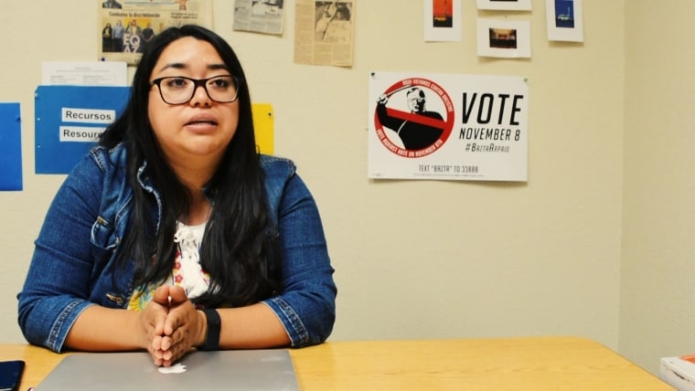 Abril Gallardo is just one out of many Latino millennials who felt that they were targeted by SB 1070.