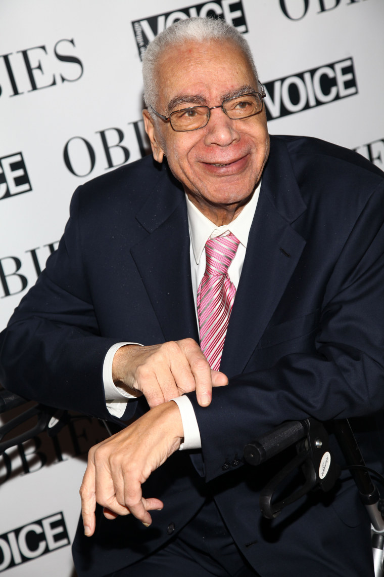 Image: Earle Hyman attends the 54th Annual Village Voice Obie Awards at Webster Hall