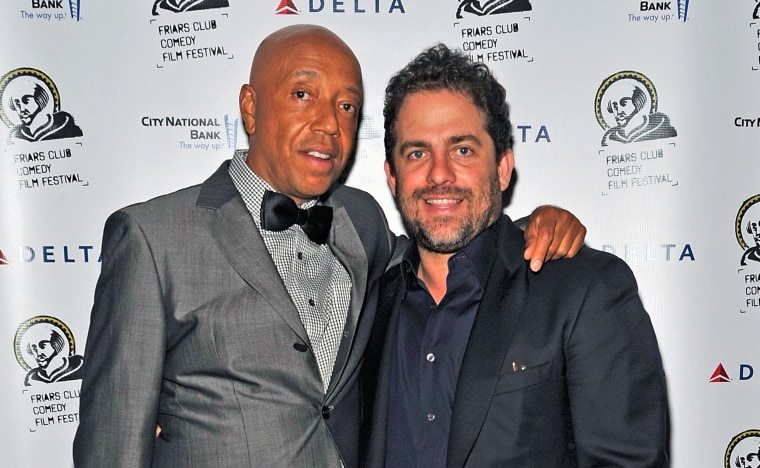 Image: Russell Simmons and Brett Ratner