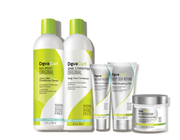 Curl serum and kit from Dermstore