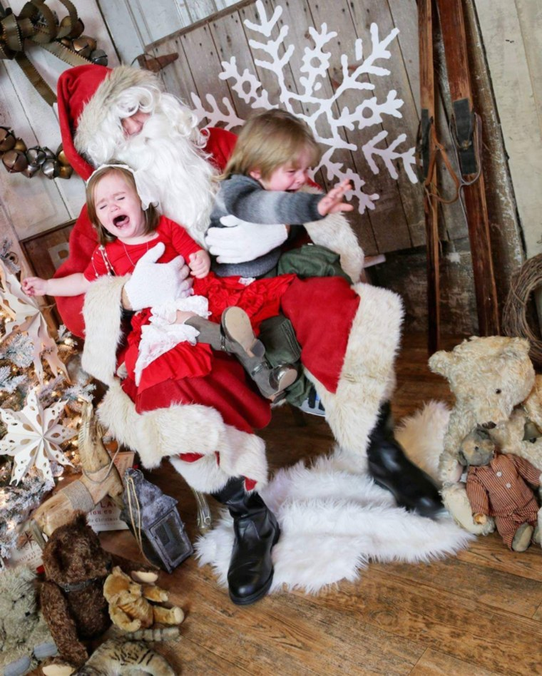 ""\""""I love this photo more than any posed photo,"""" Amber Gordon said of this image of her kids, Maylee and Joseph, with Santa.""760|948|?|en|2|e75a560a2d293f538ac0b489ce9944be|False|UNLIKELY|0.33465731143951416