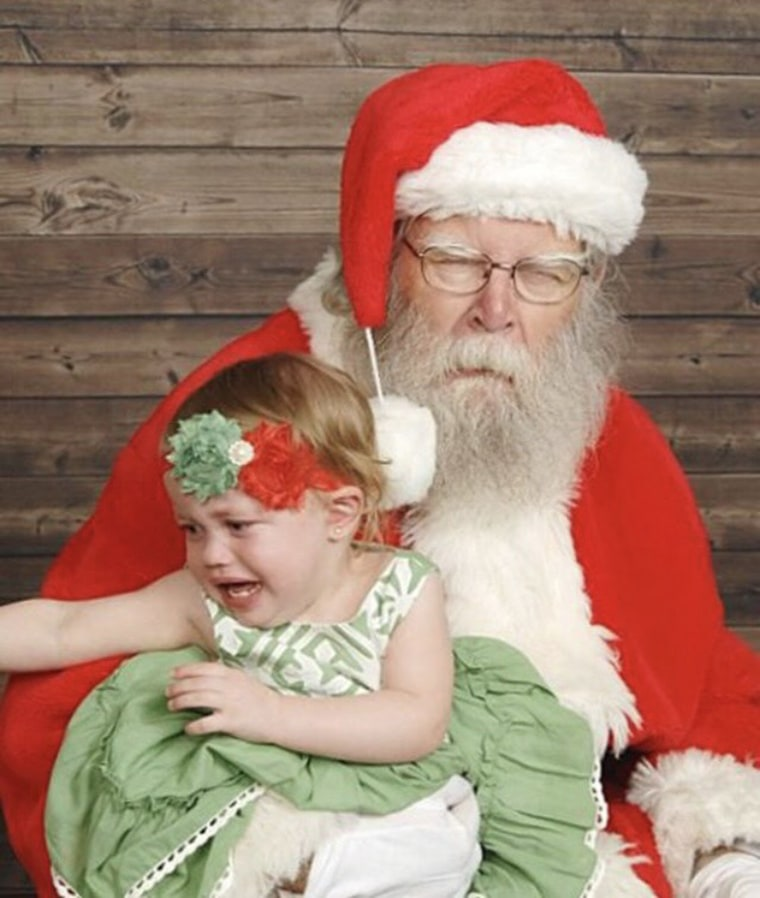 ""\""""A picture is worth 1,000 words,"""" said Jessica Noble about this photo of her daughter, Ava, with Santa. """"My child hates Santa Claus but its okay. Better luck next year!""""""760|898|?|en|2|03f6e05fa75b82a704ad1e9e0e37e5ee|False|UNLIKELY|0.35392212867736816