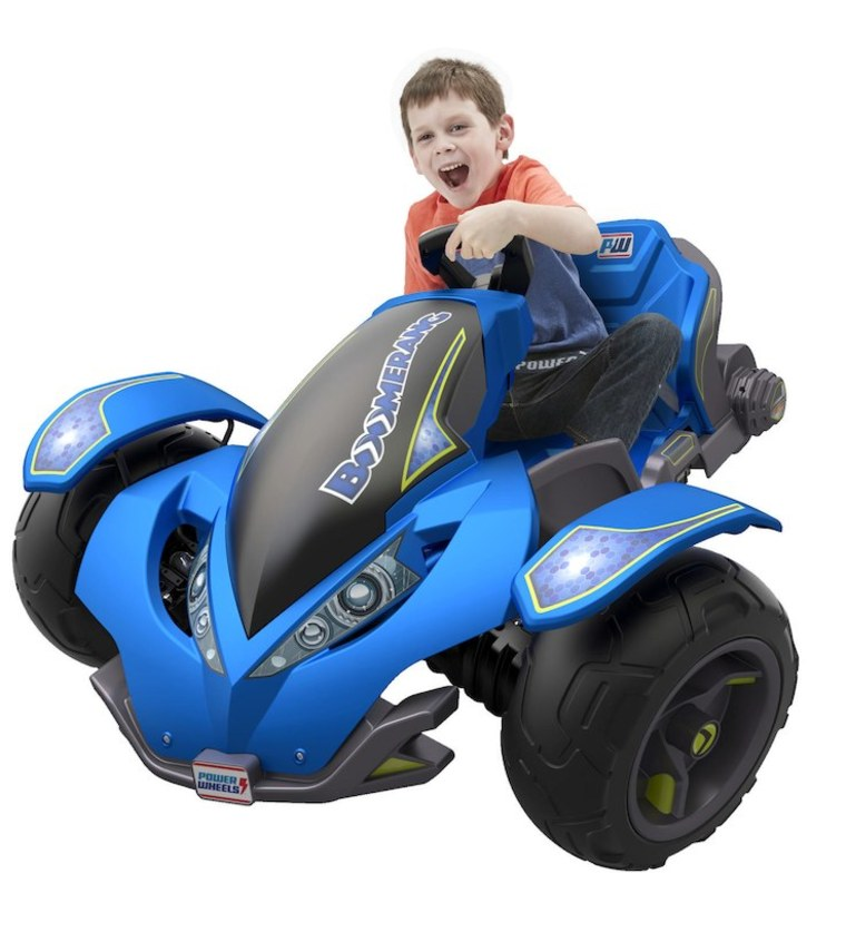 Powerwheels boomerang car