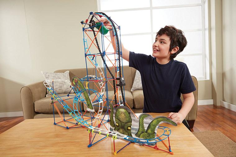 Kraken Rollercoaster Builder