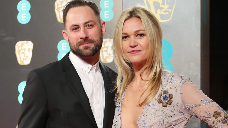 The 2017 EE British Academy Film Awards held at the Royal Albert Hall - Arrivals  Featuring: Julia Stiles, Preston J.Cook Where: London, United Kingdom When: 12 Feb 2017