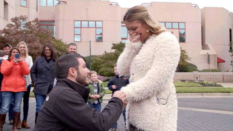 Cancer survivor gets to live and gets engaged at St. Jude