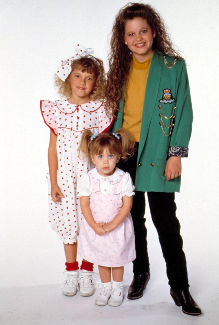 FULL HOUSE, Jodie Sweetin, Candace Cameron, Ashley/Mary-Kate Olsen, 1989, Season 3. 1987 - 1995. (c)