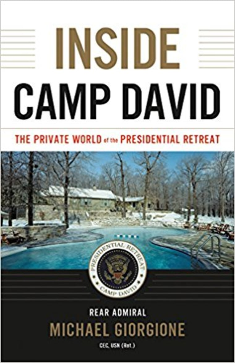Inside Camp David book cover