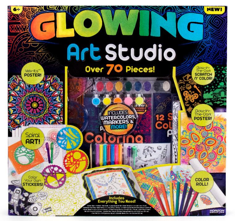 Glowing Art STudio set
