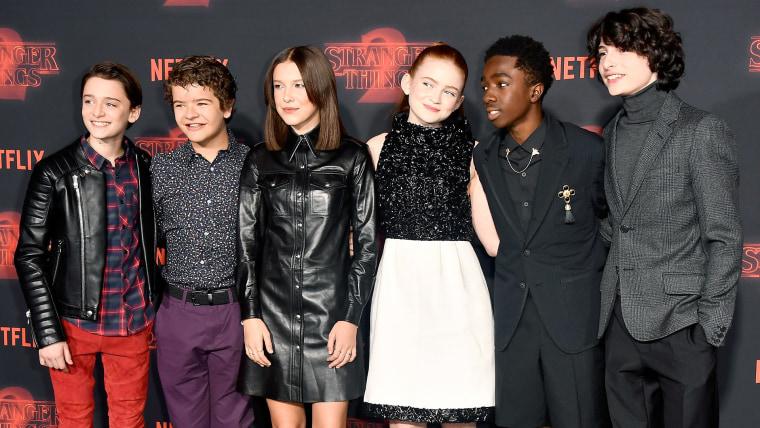 "Image: Premiere Of Netflix's ""Stranger Things"" Season 2 - Arrivals"