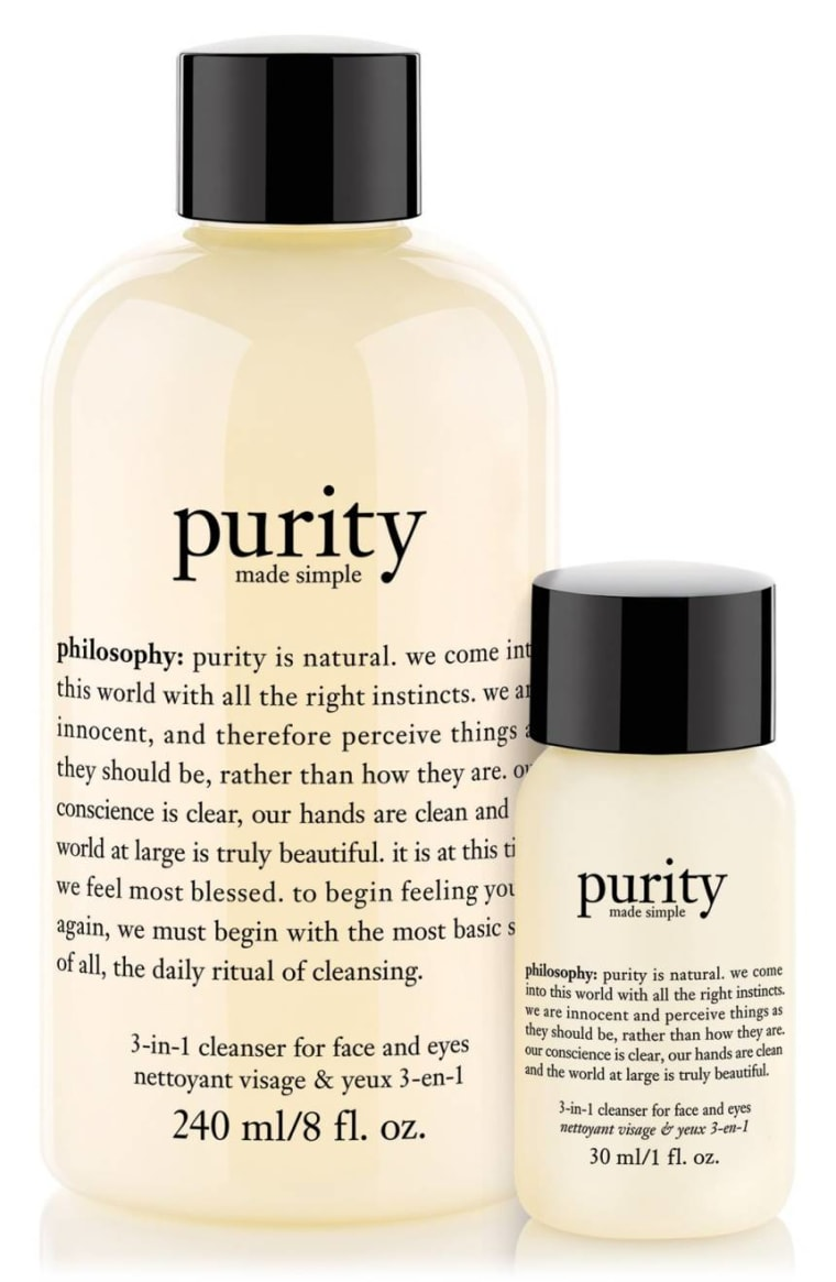 Philosophy Purity Made Simple One-Step Facial Cleanser Duo