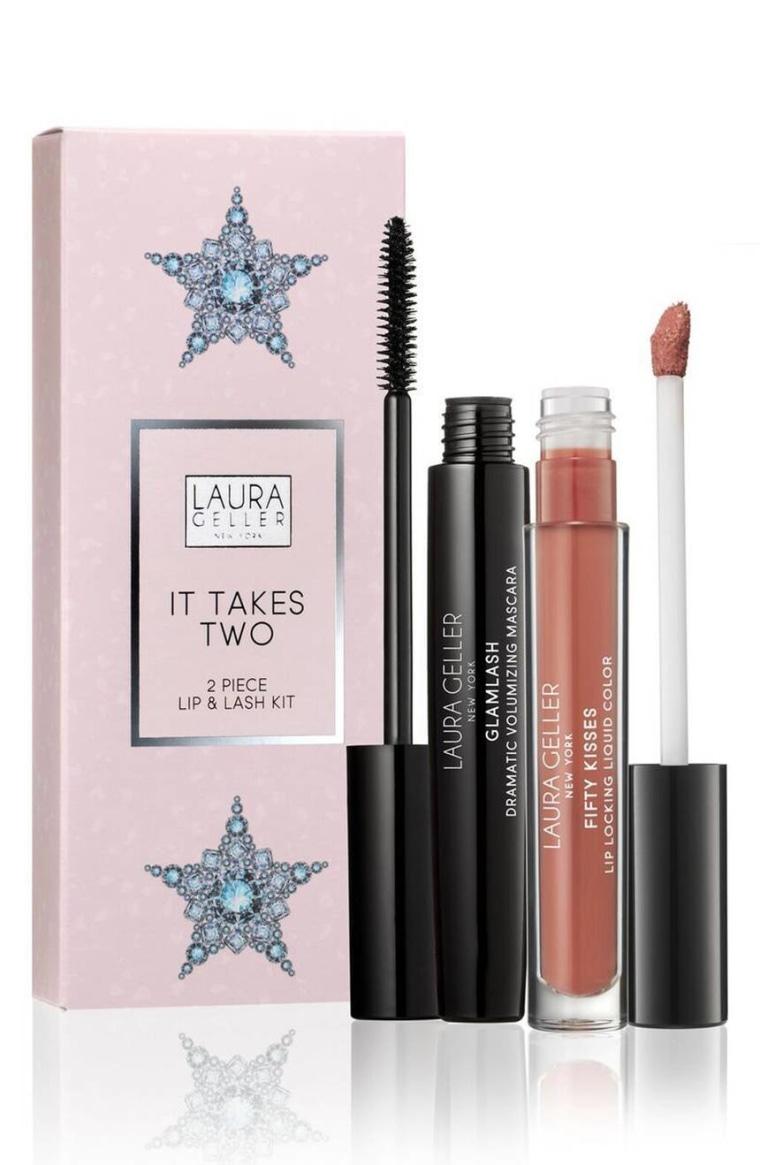 Laura Geller Beauty It Takes Two Lip & Lash Kit